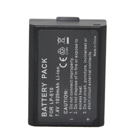 Baterai Canon Lp E10 Oryginal 100 For Canon 1100d 1200d 1300d replacement battery lp e10 for canon eos 1100d x50 meike store