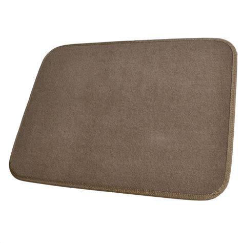 Brown Car Mats by Beige Car Floor Mats Liner Pads Utility Mat Standard