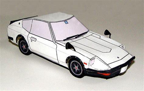 Nissan Papercraft - corner papercraft nostalgics by metmania fan
