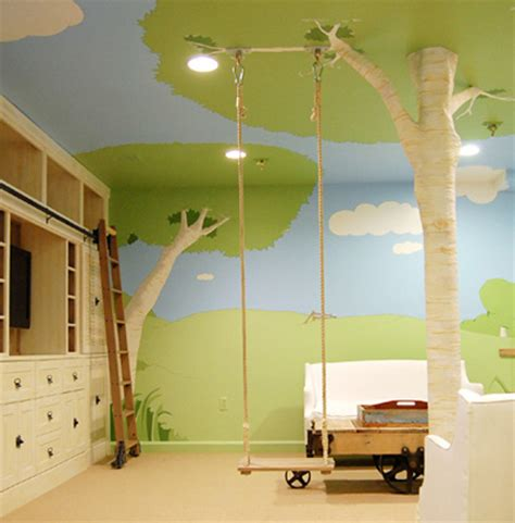 nature themed house tree house bedroom room color ideas bedroom