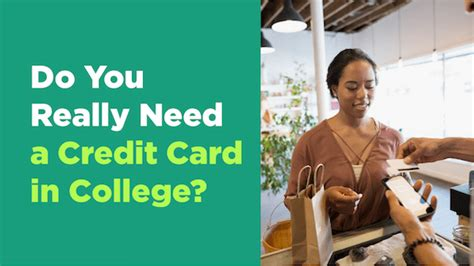 do you need a credit card for a hotel room do you really need a credit card in college