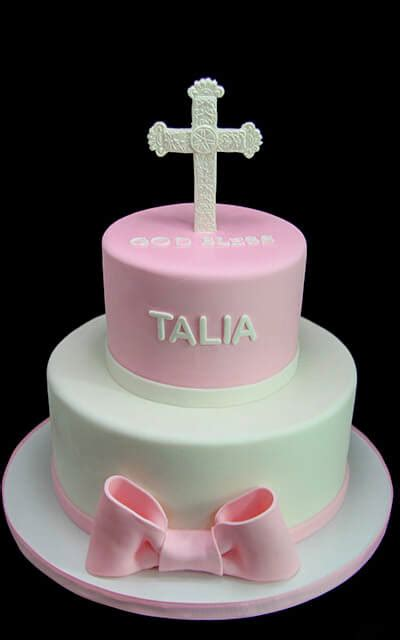 3d Cake by 3d Cross Baptism Cake Butterfly Bake Shop In New York