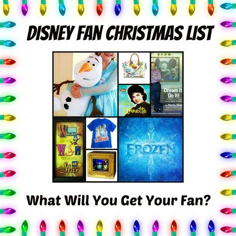 ultimate disney fan christmas holiday gift guide