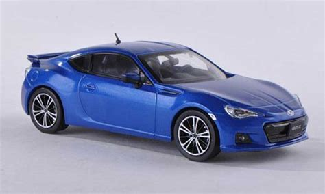 Diecast Subaru subaru brz blue 2012 subaru diecast model car 1 43 buy