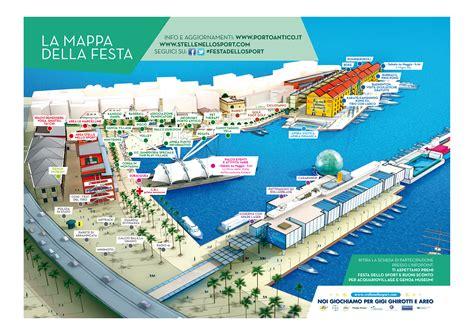 mappa porto di genova mappa della festa dello sport 2014 porto antico di genova