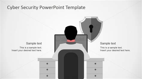 Cyber Vulnerabilities Hacking Theme For Powerpoint Computer Security Ppt Templates Free