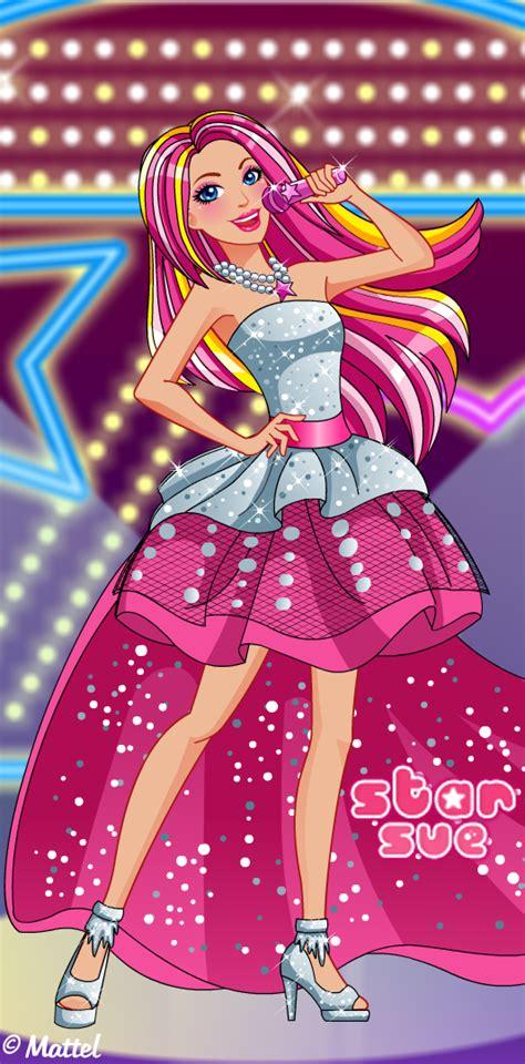 barbie rock  royals style dress  game httpwwwstarsuenetgamebarbie rock  royals