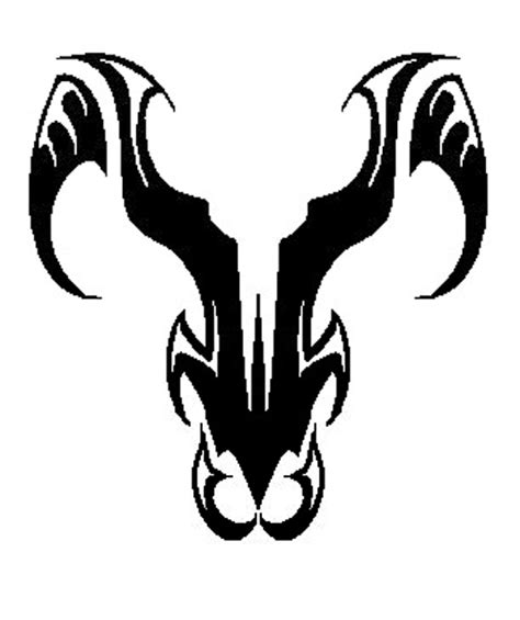 tribal ram tattoo big aries designs symbol aries tattoos expo