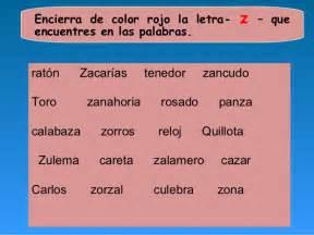 color con z imagenes de palabras con z a color imagui