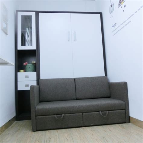 folding bedroom furniture wholesale bedroom furniture folding wall bed with sofa