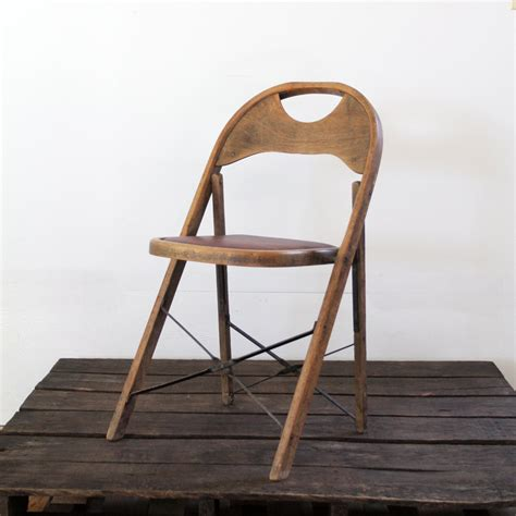 vintage folding wooden chairs vintage folding chair wood metal folding chair