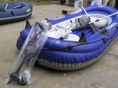 electric motor on inflatable boat inflatable boat with electric motor