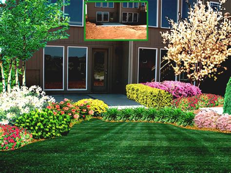 garden design front of popular home amazing simple green simple landscaping ideas using mulch for front yard