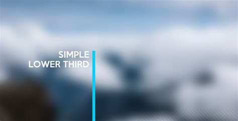 Simple Lower Third By Marcinias Videohive Lower Third Templates Photoshop