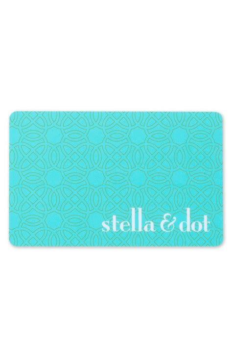pinterest - Stella And Dot Gift Card