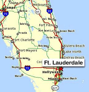 map of florida east coast airports