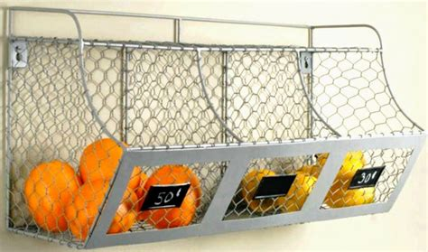Mounted Spice Rack Deeauvil Organizing With Wire Baskets