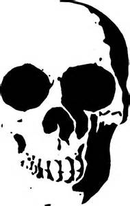 skull stencil template the world s catalog of ideas