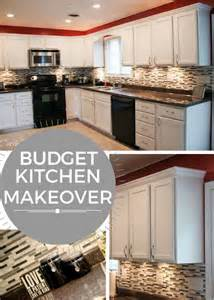 Budget Kitchen Makeover Ideas by Budget Kitchen Makeover