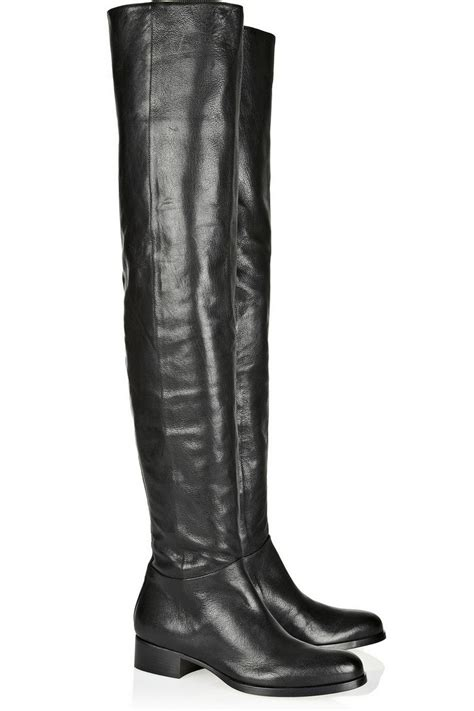 jimmy choo giorgina leather the knee boots