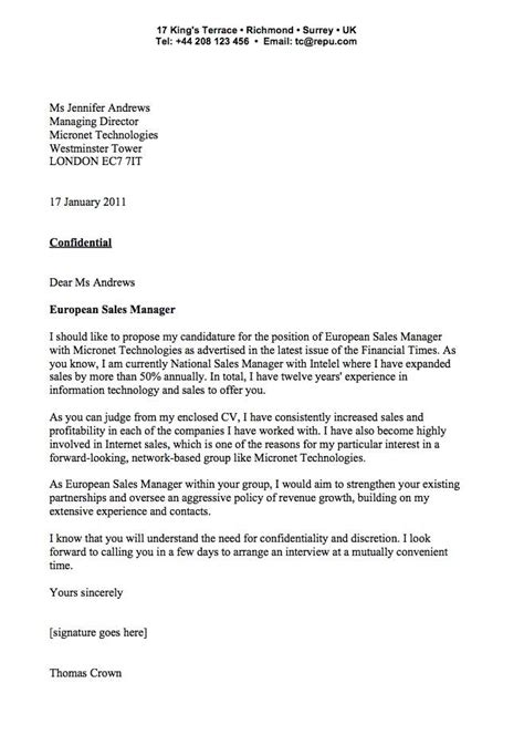 exle of covering letter cover letter exlesbusinessprocess