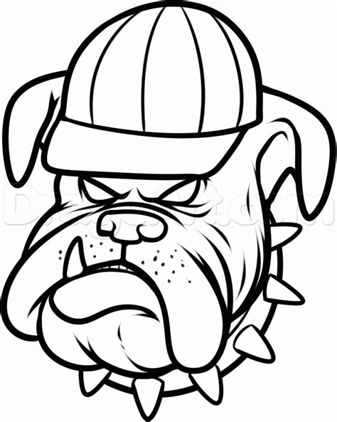 bulldog coloring pages bulldog pictures to color az coloring pages