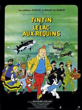 tintin y el lago tintin and the lake of sharks wikipedia