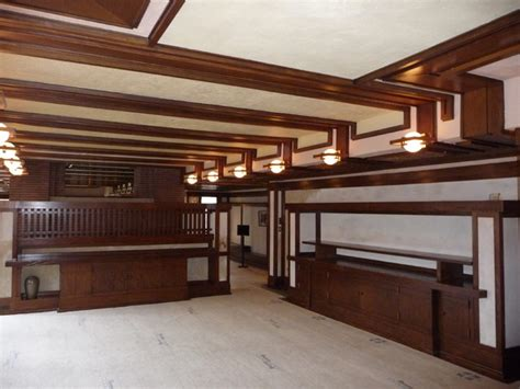 Chicago Dining Rooms by Frank Llyod Wrightp Robie House Renovation Chicago