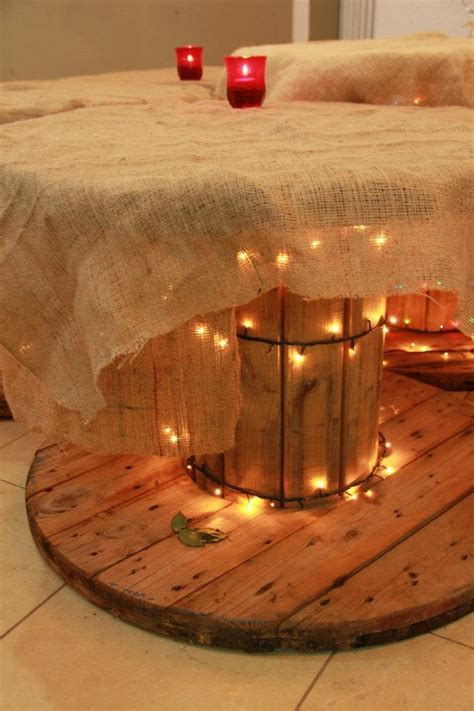 wooden cable reel recycling ideas upcycle art