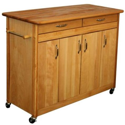 kitchen island home depot catskill craftsmen flat door 44 in kitchen island discontinued 51842 at the home depot