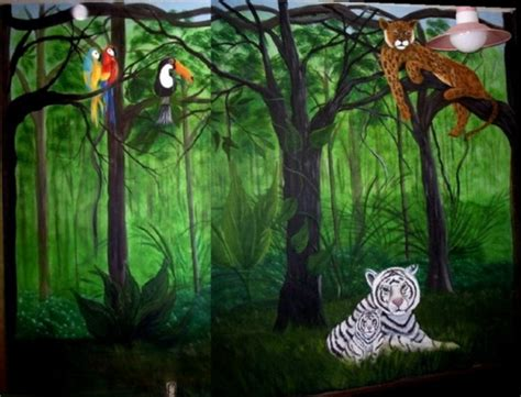 Jungle Bedroom Wallpaper Murals Jungle Wall Murals Jungle Wall Murals Room