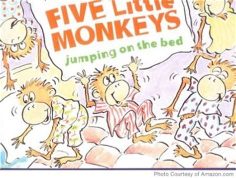 monkeys jumping on the bed story five little monkeys five little and monkey on pinterest