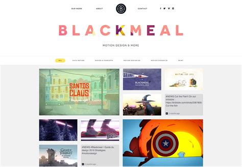best portfolio websites the best new portfolio february 2016 webdesigner