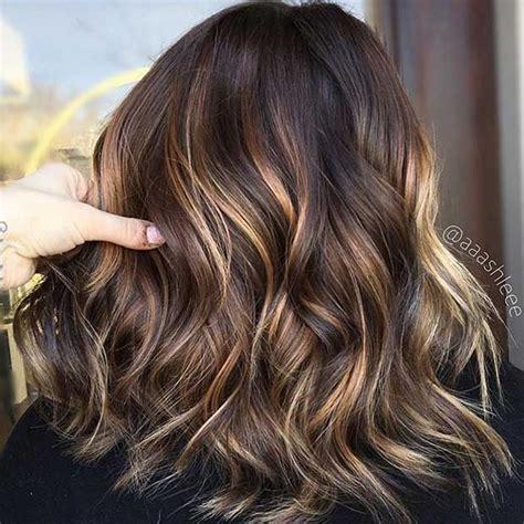 reslly vlonde on top and dark brown on bottom pics 27 stunning blonde highlights for dark hair subtle