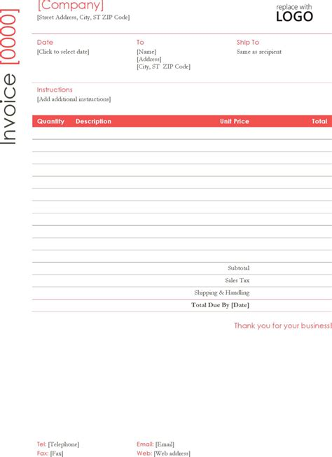 invoice template for asp net construction invoice template free download speedy