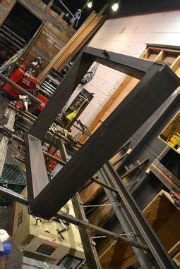hand  industrial style steel table base  steeldesign custommadecom