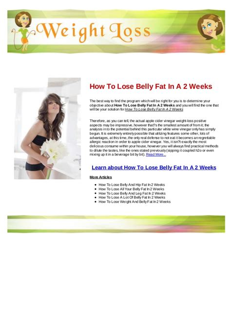How To Shed Belly by How To Lose Belly In 1 Week Models Picture