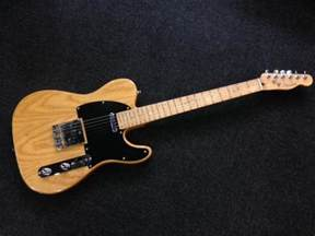fender korean lite ash telecaster maple pre