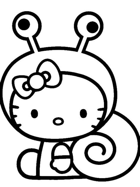 cute coloring pages hello kitty hello kitty was wearing a cute costume coloring page