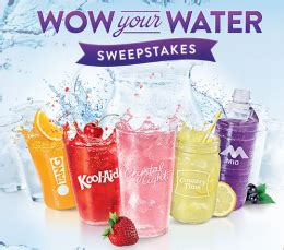 Kraft Sweepstakes - kraft wow your water sweepstakes iwg win a trip in the us for 4 sweepstakes