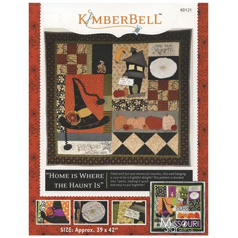 Missouri Quilt Company Forum by Home Is Where The Haunt Is Pattern Kimberbell Designs