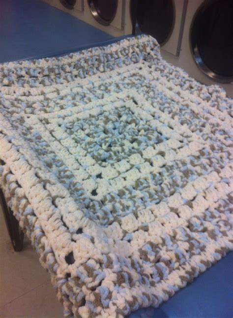 crochet pattern bulky yarn afghan pattern is from the middle made with bernat baby blanket
