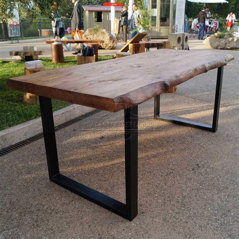 tavolo ferro tavolo legno massello modello impero 30 acquistalo
