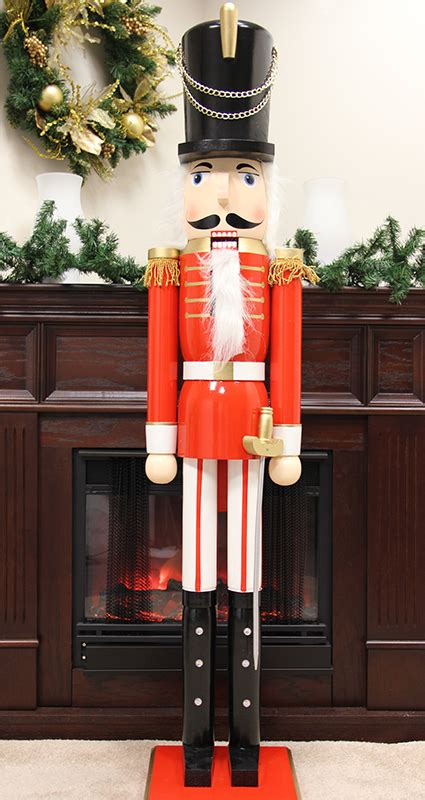 6 foot commercial size soldier decorative christmas