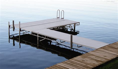 rgc boat lifts rgc marine products install docks by dock guys in maine