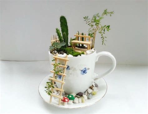 Indoor House Plants Sale how to make a fairy garden with teacups craft projects
