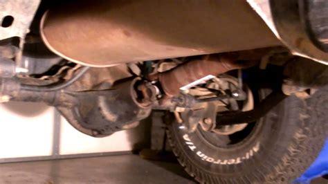 Jeep Wrangler Shaking 02 Jeep Wrangler Driveline Vibration Possible Fix
