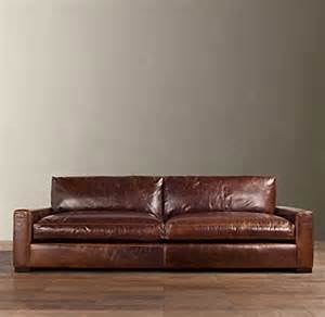 Restoration Hardware Sectional Sofa 6 Maxwell Leather Sofa