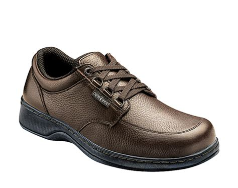 island comfort footwear orthofeet men s comfort speed lace shoes free shipping