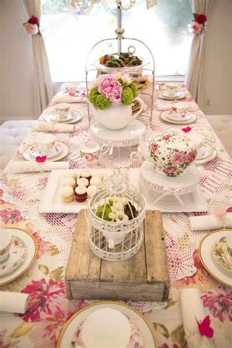 images about tea parties on pinterest table decorations gorgeous party table from colorful tea party at kara s